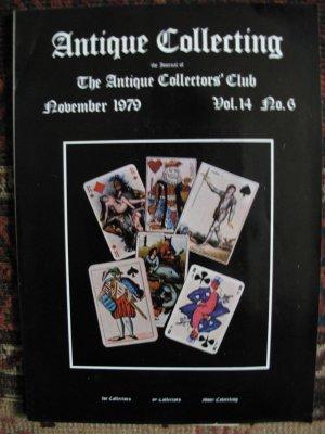 Antique Collecting Vol. 14, No. 6, November 1979