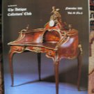 Antique Collecting Vol. 16, No. 6, November 1981