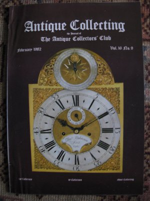 Antique Collecting Vol. 16, No. 9, February 1982
