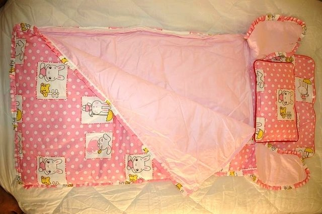 Baby Sleeping Bag - Pinky Rabbit