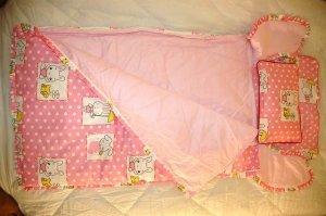 Baby Sleeping Bag - Pinky Rabbit