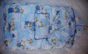 Baby Sleeping Bag - Blue Bear