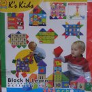 K's Kids Activity toys - Block and Learn