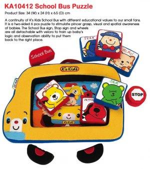 K's Kids : School Bus Puzzle