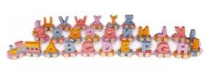Wooden Toys - Wooden Alphabet Train