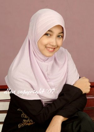 Tudung Permata - Type 10 (b) Soft Purple