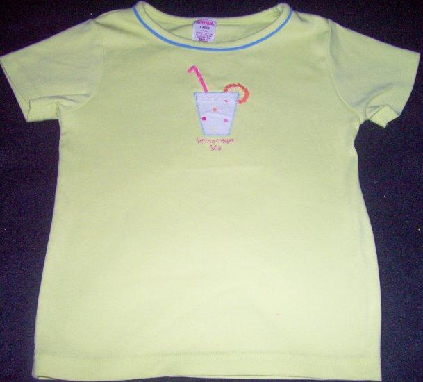 Girls 5 GYMBOREE Rainbow Sherbert Green Top Shirt