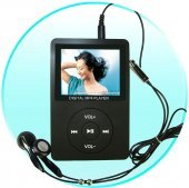 Elite MP4 Player with Camera - 2.4 inch Screen - 4GB + SD Slot