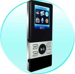 4GB Pocket MP4 Video Player - 1.5 Inch Screen - Dual Earphone