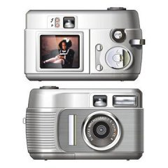 2 Megapixel Value Digital Camera - SD Card Storage
