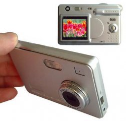 Digital Camera, 5.5M Pixel, 1.5 inch Color Ltps LCD