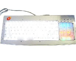 LED White Light Incoming Calls Light-emitting Keyboard