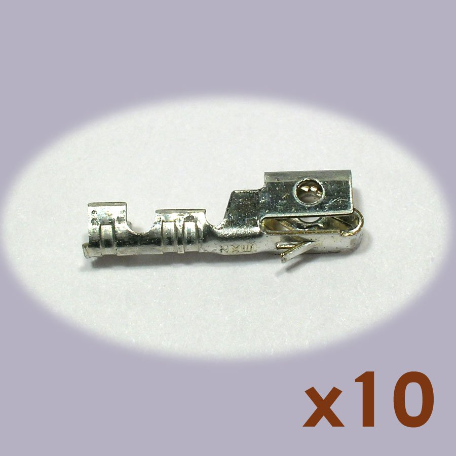 Molex 08-50-0005-C KK Crimp Type Shrouded Terminal (10 pcs, NoS)