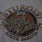 2010 Sturgis 70th Year Rally T Shirt Mens Small