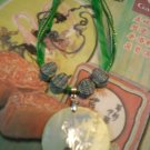 Green Asian Pendant Necklace