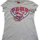 """NEW Puma Girls """"Original Sport 1948"""" Heart T-Shirt Top size Medium 8/10"""