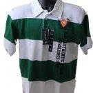 NEW U.S. Polo Assn. Short Sleeve  Striped Polo Top Size 10/12