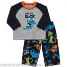 "NEW Carter's ""Mom Says I Rock"" Blue Pajama Set - Sleepwear  24 Months"