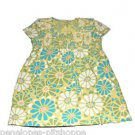 OLD NAVY SMOCKED FLORAL LONG SHORT SLEEVE TOP SIZE XL 14