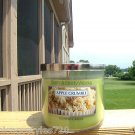 BATH & BODY WORKS LARGE 3-WICK CANDLE JAR IN APPLE CRUMBLE! (NEW) FREE SHIPPING