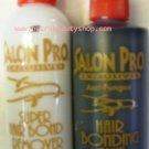 Salon Pro Hair Extension Black Glue & Remover Kit-4 oz