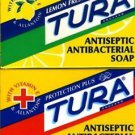 TURA SOAP-PROTECTION PLUS-LEMON FRESH - ANTISEPTIC ANTIBACTERIAL SOAP 75 gm!!