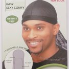 Murry Collection Tie Down Durag Ultra Stretch Adjustable - Breathable-3910BLK