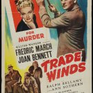 TRADE WINDS 1938 Joan Bennett