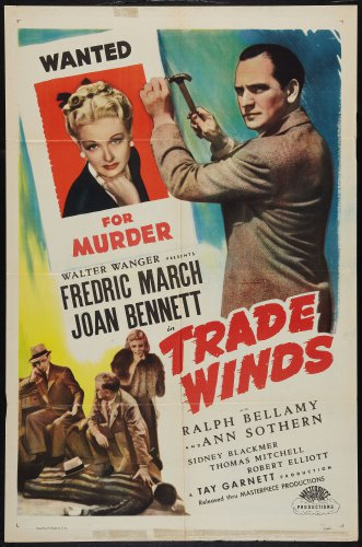 TRADE WINDS 1938 Joan Bennett