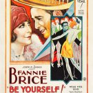 BE YOURSELF! 1930 Fanny Brice