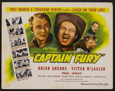 CAPTAIN FURY 1939 Brian Aherne