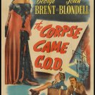CORPSE CAME C.O.D. 1947 Joan Blondell