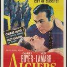 ALGIERS 1938 Hedy Lamarr
