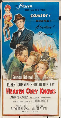 HEAVEN ONLY KNOWS 1947 Robert Cummings