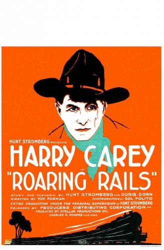 ROARING RAILS 1924 Harry Carey