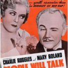PEOPLE WILL TALK 1935 Charles Ruggles