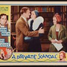 PRIVATE SCANDAL 1934 Phillips Holmes
