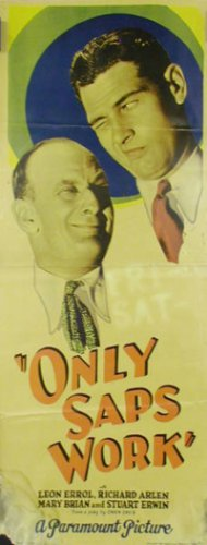 ONLY SAPS WORK 1930 Mary Brian