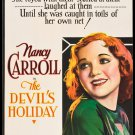 DEVIL'S HOLIDAY 1930 Nancy Carroll