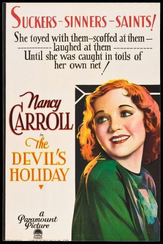 DEVIL'S HOLIDAY 1930 Nancy Carroll