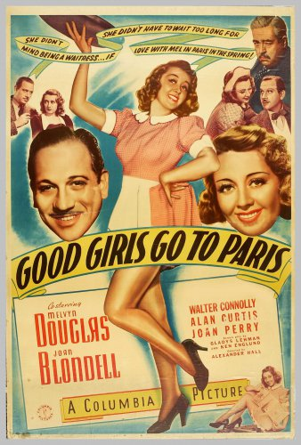 GOOD GIRLS GO TO PARIS 1939 Joan Blondell
