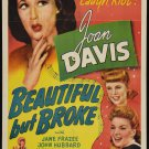 BEAUTIFUL BUT BROKE 1944 Joan Davis