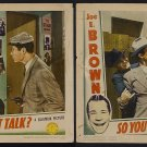SO YOU WON'T TALK 1940 Joe E Brown