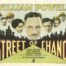 STREET OF CHANCE 1930 Kay Francis