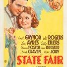 STATE FAIR 1933 Janet Gaynor
