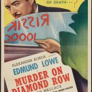 MURDER ON DIAMOND ROW 1937 Edmund Lowe