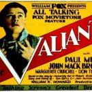 VALIANT 1929 Paul Muni