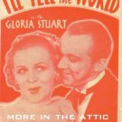 I'LL TELL THE WORLD 1934 Gloria Stuart