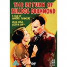 RETURN OF BULLDOG DRUMMOND 1934 Ralph Richardson