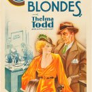 CHEATING BLONDES 1933 Thelma Todd